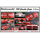 Chevrolet Corvette Coupe 1968-1972 Karosserie incl. Tiefziehteile
