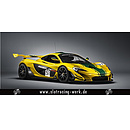 McLaren P1 GTR Yellow-Green